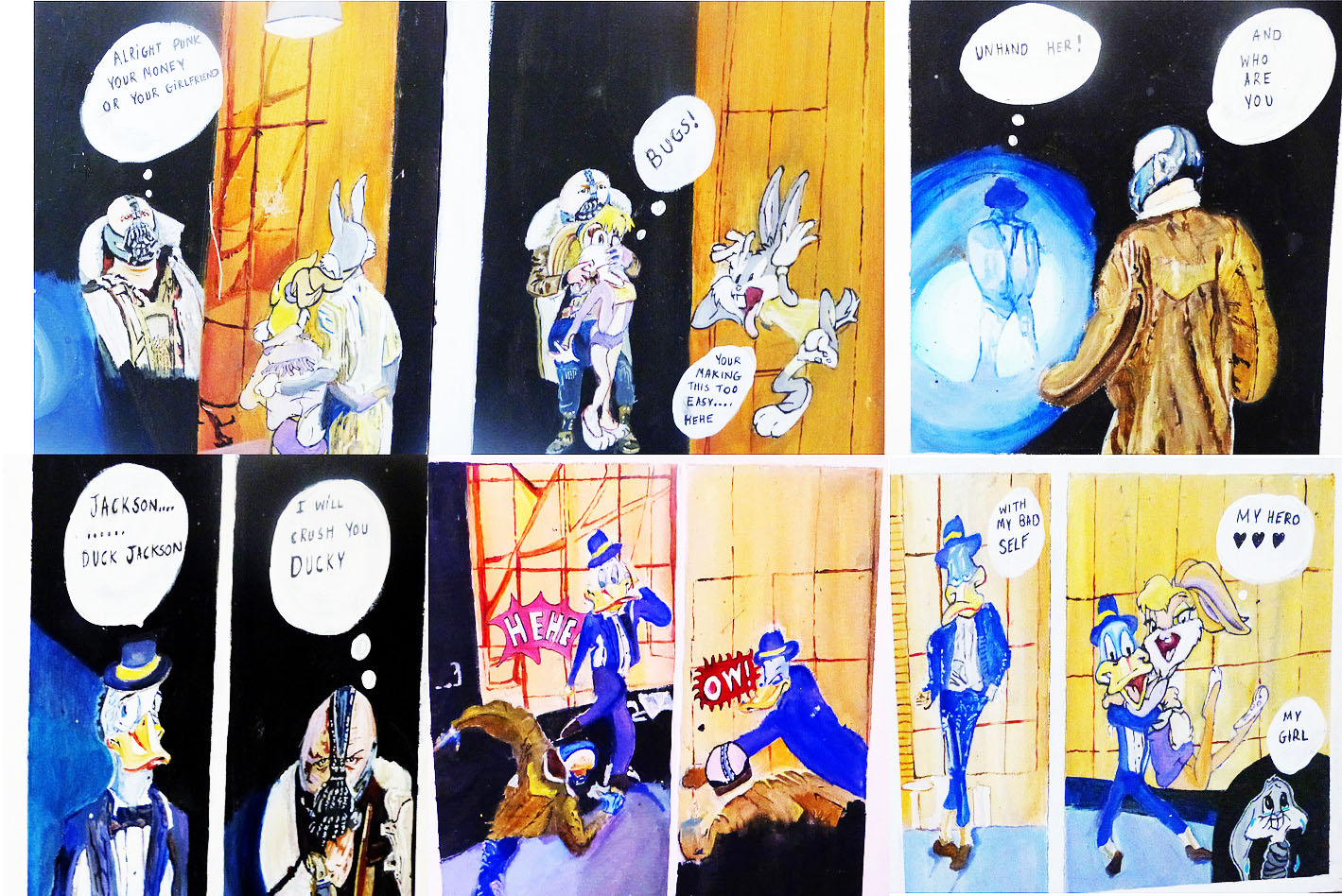 Comic book strip 1