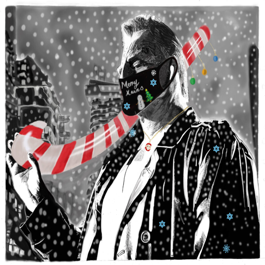 Sin city Christmas card